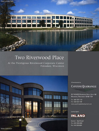 Two Riverwood Place, Pewaukee Wisconsin Brochure